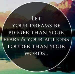 inspirational quote - actions speak louder than words CNN7