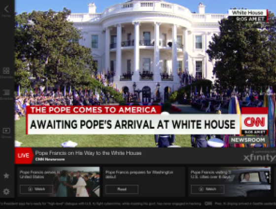 Pope Francis - White House CNN7
