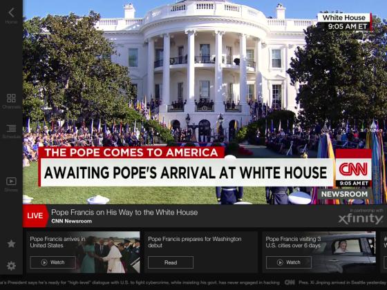 Pope Francis - White House CNN7